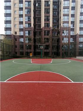 篮球场透水混凝土