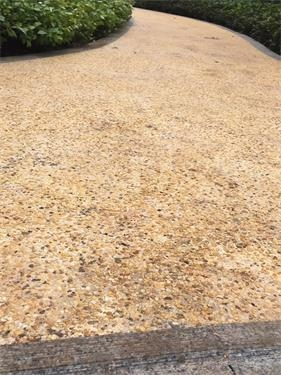 水洗石路面